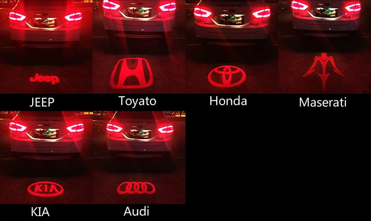 HTAUTO Custom Logos Led Car Tail Logo L& Projector Shadow Laser Fog Light  sc 1 st  Alibaba & Htauto Custom Logos Led Car Tail Logo Lamp Projector Shadow Laser ...