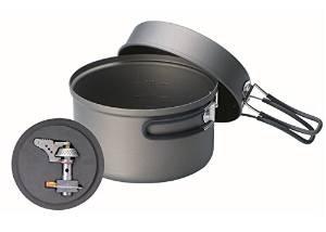 Kovea Solo Lite Titanium Stove with High Purity Hard Anodizing Cook Set
