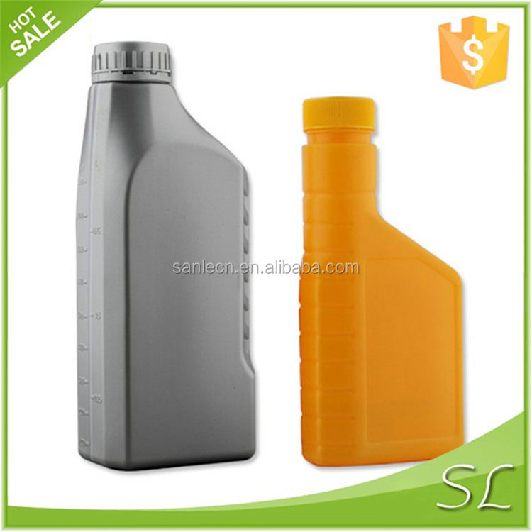 plastic fuel jerry can 400~1000ml HDPE Lubricant Oil Empty Plastic Bottle