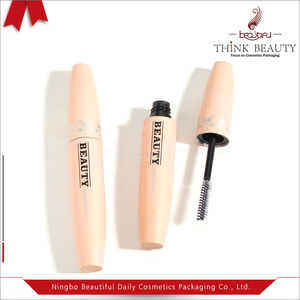 Best price matte pink Empty Mascara 20.8mm H 133mm Container/Bottle, Cosmetic Mascara Packaging