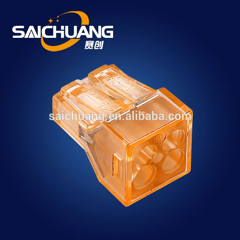 Manufacturer equivalent wago terminal block 273 wago 221 2way 3way 5way connector equivalent wago push wire connector