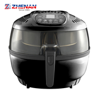 Hot air fryer cooker deep without oil with light indicator