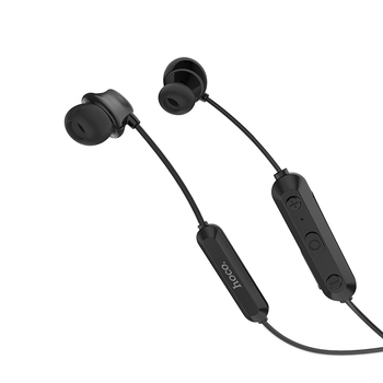 dcf94836a9e ES17 Cool music sporting Bluetooth 4.2 earphones with neck band 100mAh  battery for 6 hours music