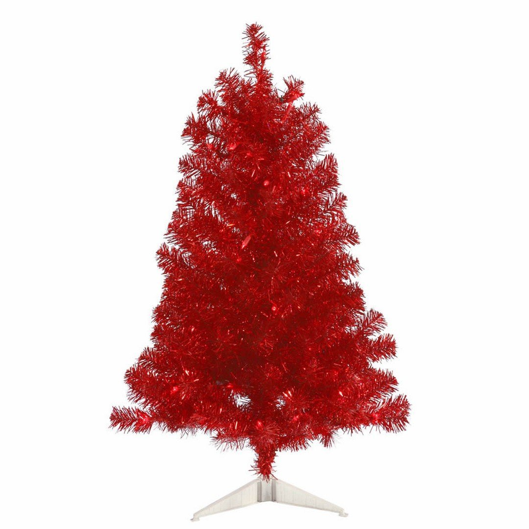 get quotations vickerman b981431led artificial christmas tree with 105 pvc tips 50 dura lit italian led