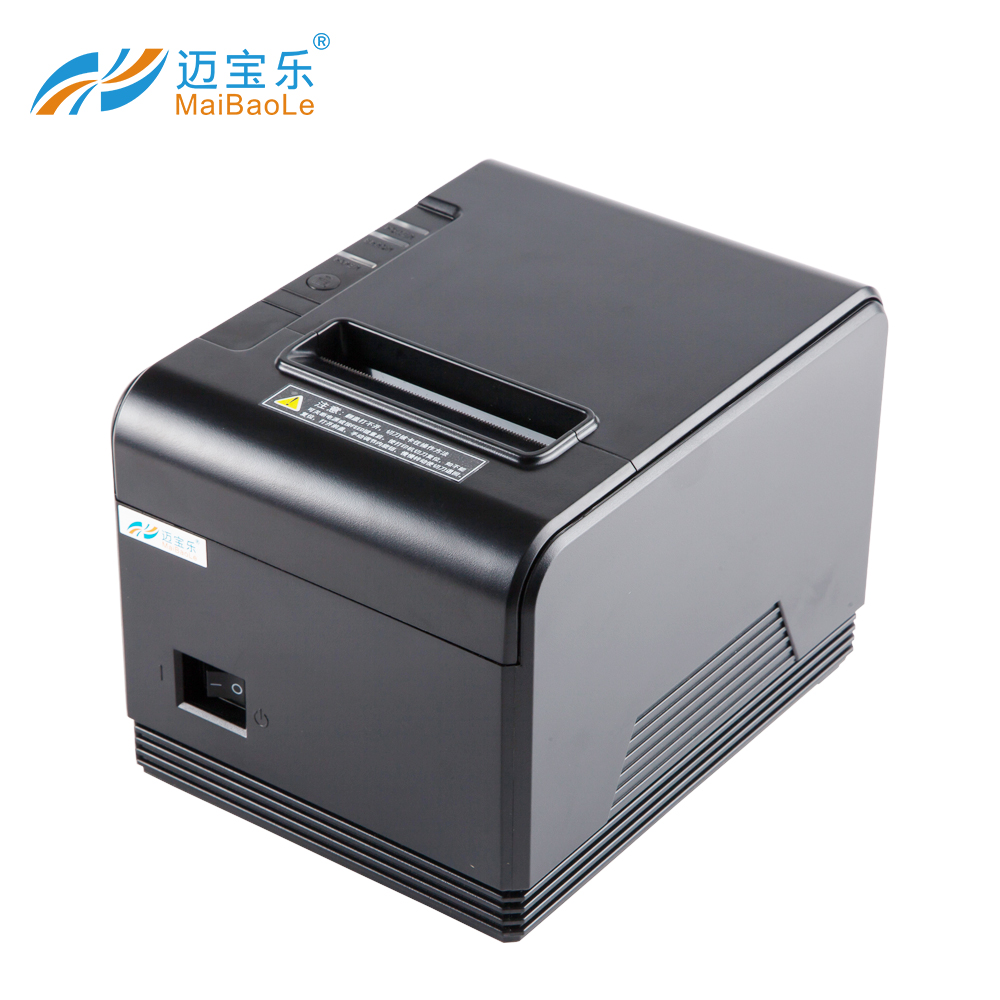 80mm thermische ontvangst USB pos printer