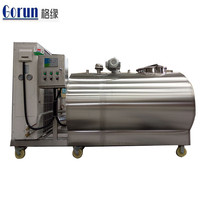 Stainless Steel 304/316L Milk Cooling Tank, Cooler Tank with Agitator