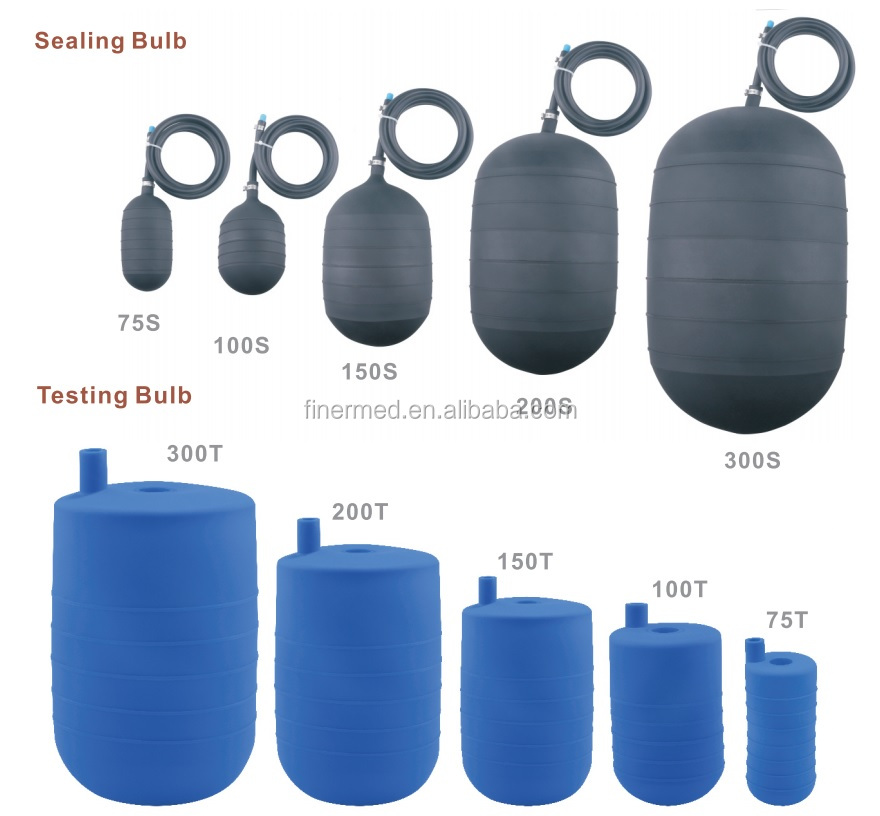 Flexible High Elastic Sewer Blocking Pipe Sewer Plugs For