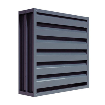 Best selling exterior window louvers metal aluminum window louver price