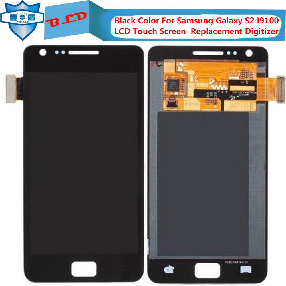 Black-Color-For-Samsung-Galaxy-S2-I9100-LCD-Touch-Screen