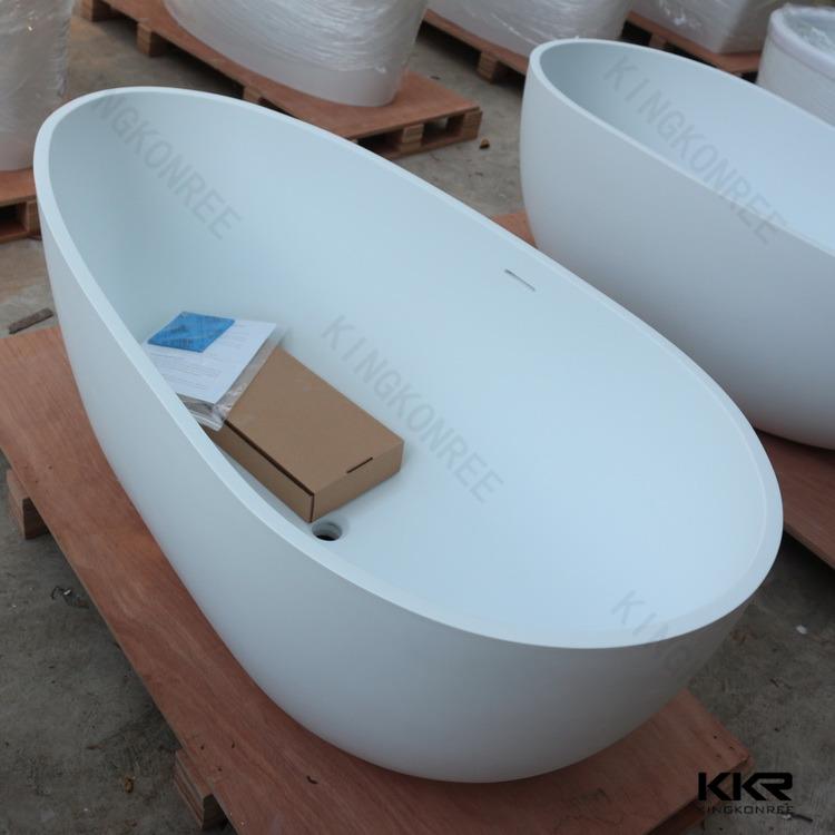 Cast resin bathtub round freestanding bath japanese for Japanese bathtubs for sale