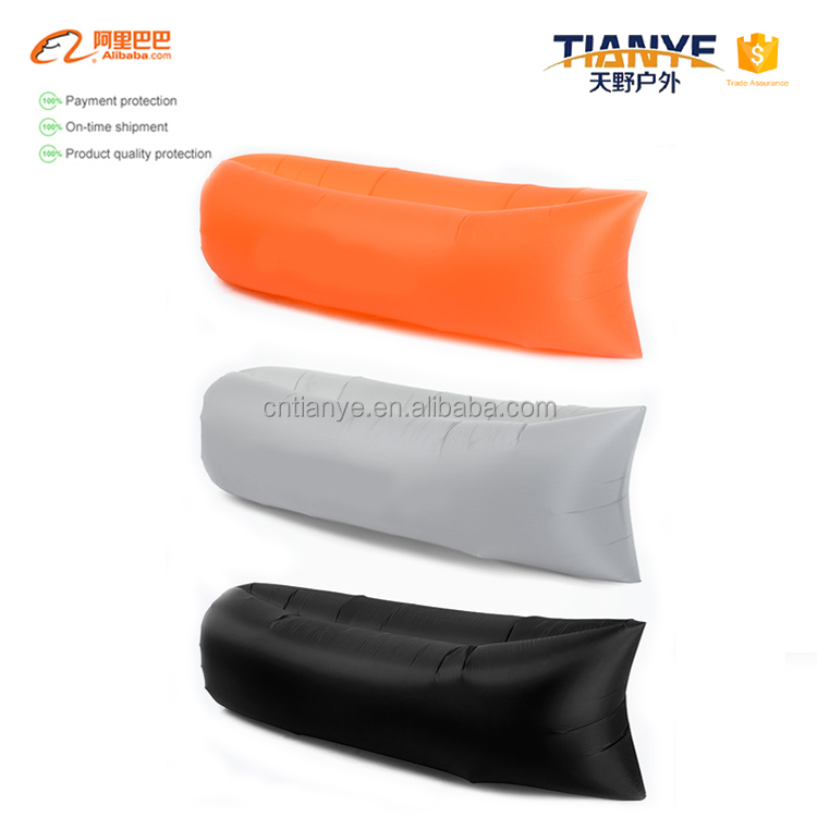 Tianye Wholesale inflatable air sofa/Ripstop Nylon Outdoor Inflatable Bed /Waterproof Air Lounger