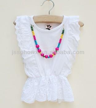 4e95688696ef 100% Cotton Baby Girl Tops T-shirt