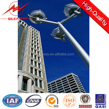 Conical or Octagonal or Polygonal Hot Dip Galvanized or Painted Steel Light Pole