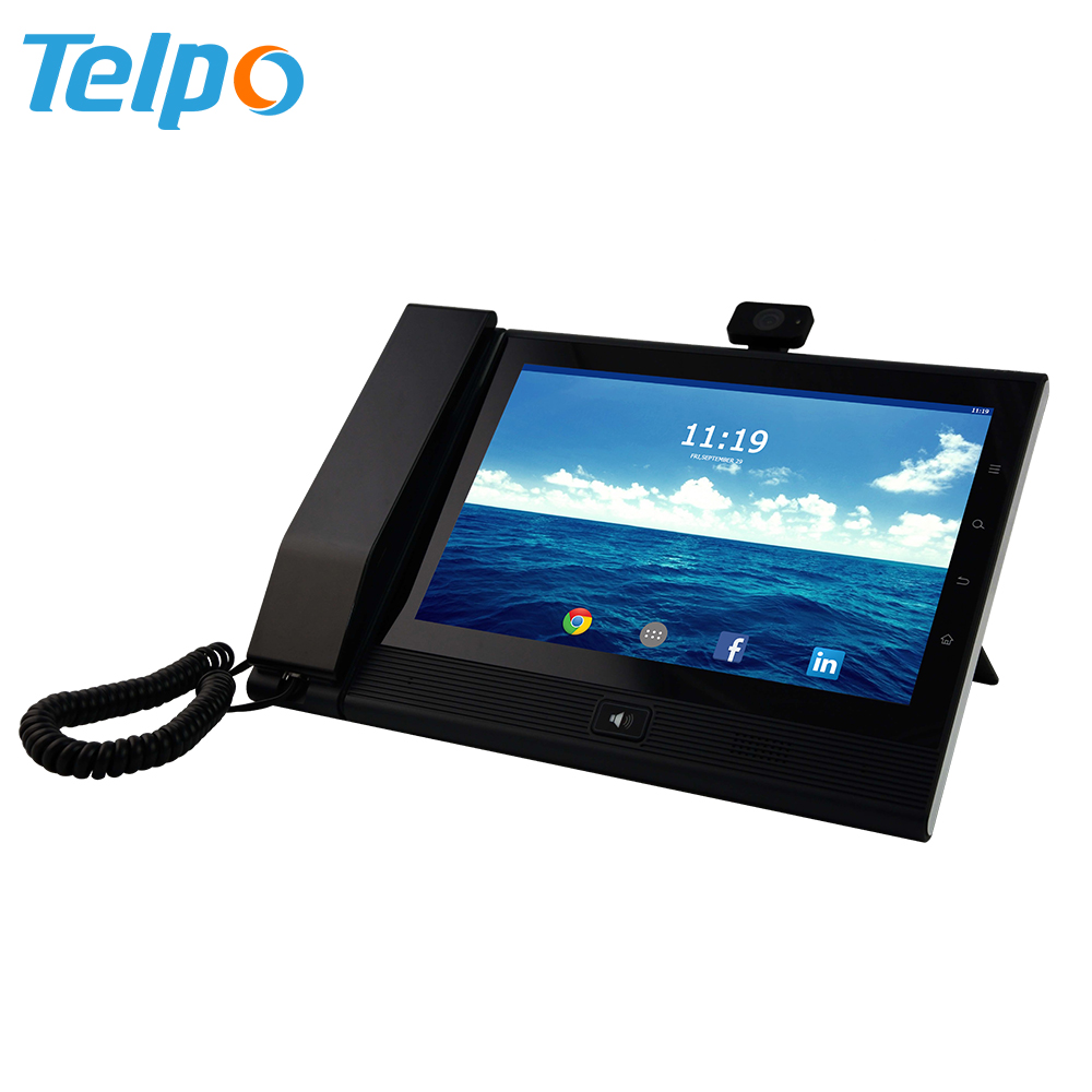 Video Conference Telepon Dubai Industri Wifi Desktop Wireless Voip Sip Ip Phone Sip
