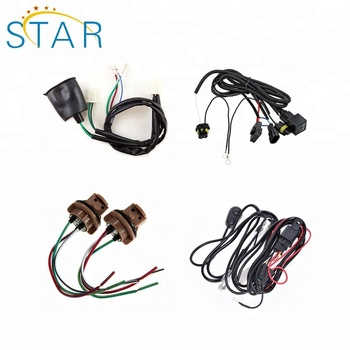 Top Quality Of Hid Xenon H1 H3 H4 H7 Car Light Bar Relay Wiring Cable on