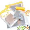 2014 premium gift big zipper waterproof plastic packaging bag