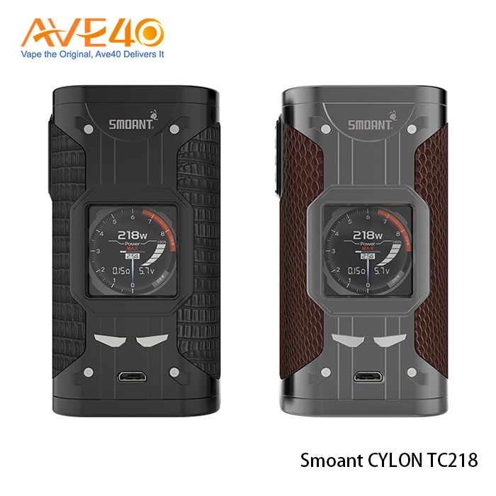 Electronic Cigarette Smoant VV/VW/TC Mods 218W Smoant CYLON TC 218 With Dual 18650 Batteries