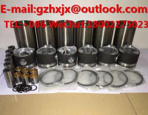 CYLIND LINER KIT Rebuild kit KUBOTA Engine Parts  D722/D782/D850/D902/905/D950 for Excavator GASKET KIT PISTON RING