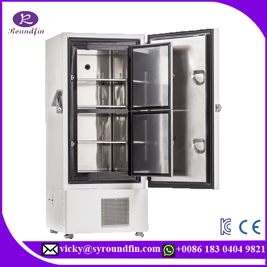 Factory direct sale Roundfin ultra low temperature freezer price