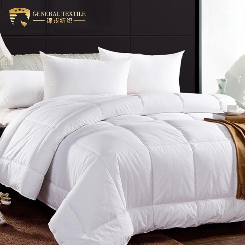 Soft 100% Cotton Warm Hotel Microfiber Bed Linen Duvet