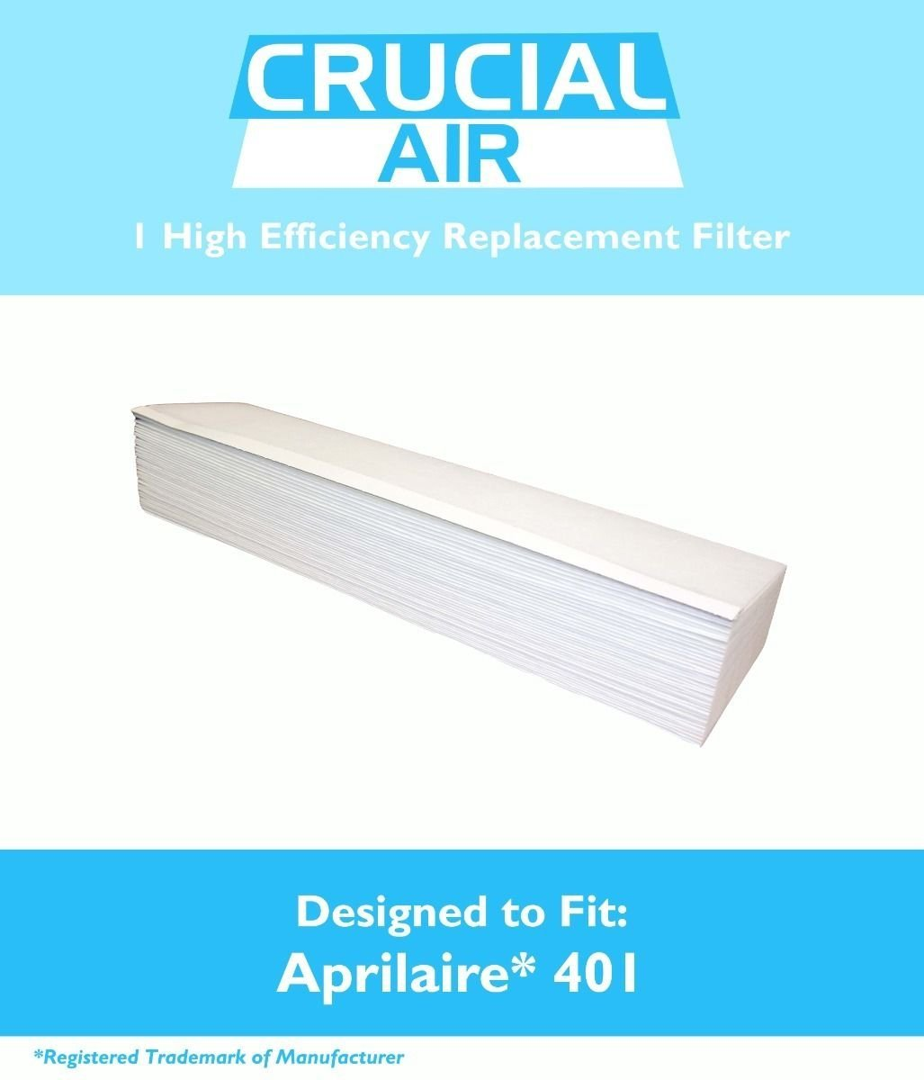 Aprilaire 401 Replacement Air Filter - Fits Space-Gard 2400 Air Purifiers - High Efficiency Replacement Air Filter - High Quality Replacement Air Filter