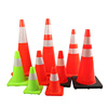 Flashing traffic cone light traffic cone reflective tape