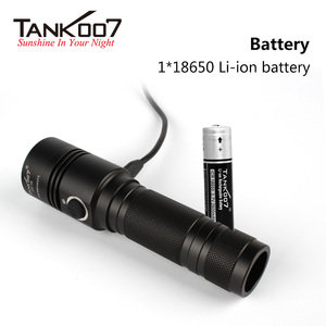 Promotional logo projection 10w watt ip68 mini rechargeable camping usb charger flashlight led torch