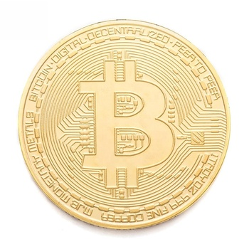 Hot selling custom high quality commemorative bitcoin coin