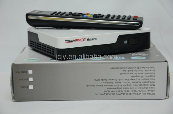 Full hd digital receiver TOCOMFREE S928S decoder iks and sks free for South America