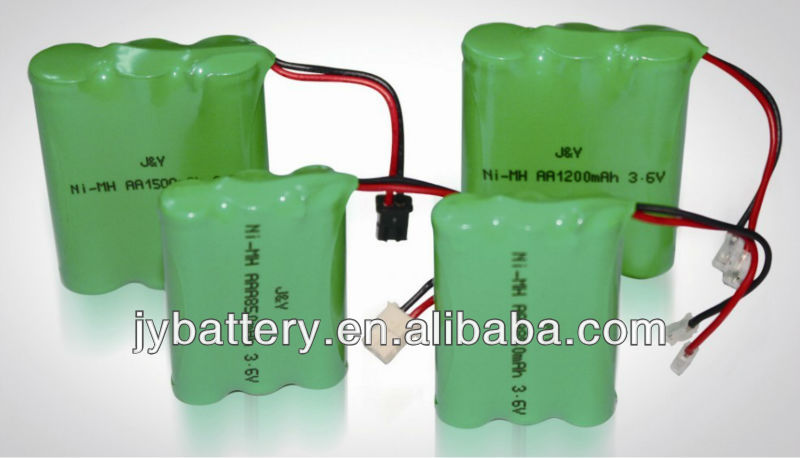 cordless phone replacement battery aaa 650mAH 3.6v 850mAh 3.6v