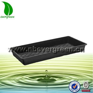 PP Flat greenhouse plant nursery tray