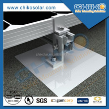 Asphalt shingle roof solar panel installation solar racking