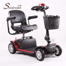 factory seedream 1000w gasoline mini scooter trunk with CE