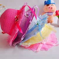 Good offer suit 1-5years old baby lace hat
