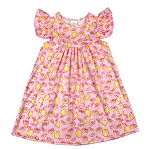 a044fdc06a67 Lemon Print Dress