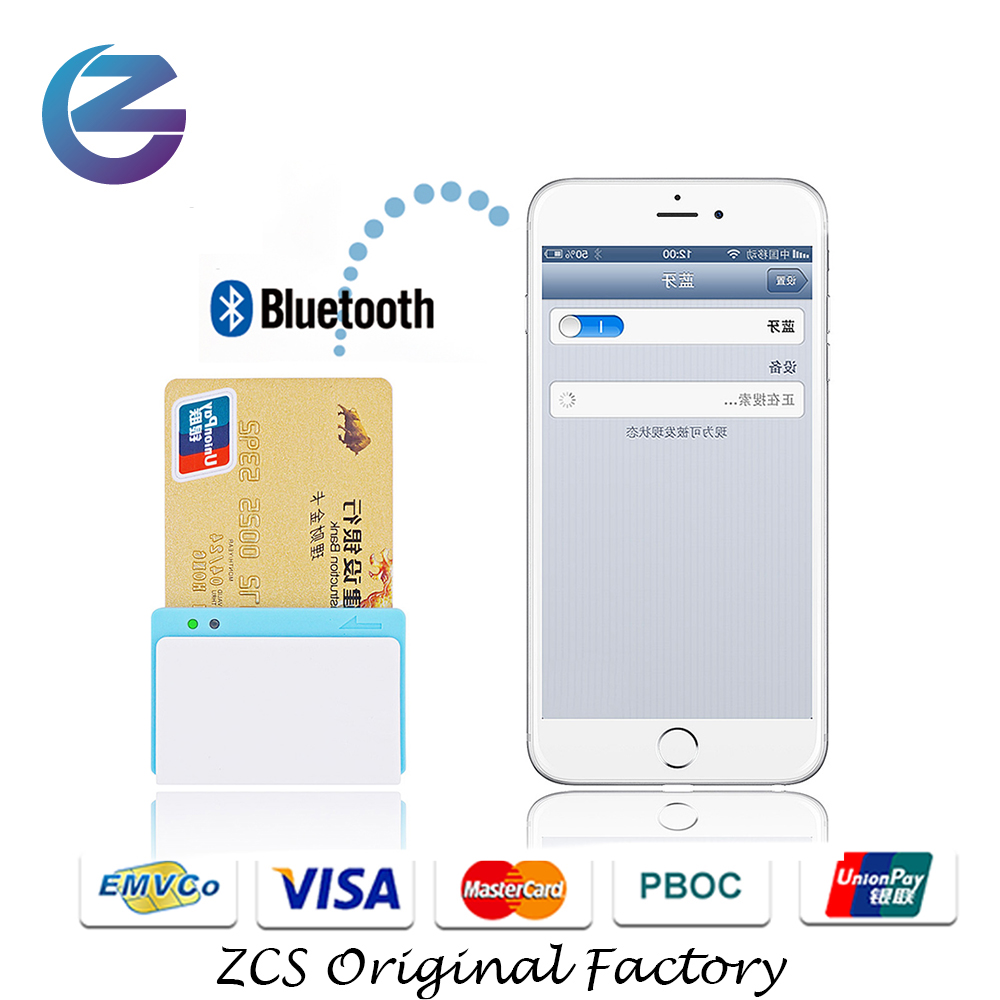 Cheap Smart 3 in 1 Mobile Bluetooth credit card reader with ios Android SDK Magnetic/chip/NFC reader