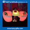 High quality New Mode Bar Furniture Waterproof LED light coffee Tables