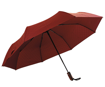 "42"" Arc Automatic Open Close Compact Folding Umbrella"