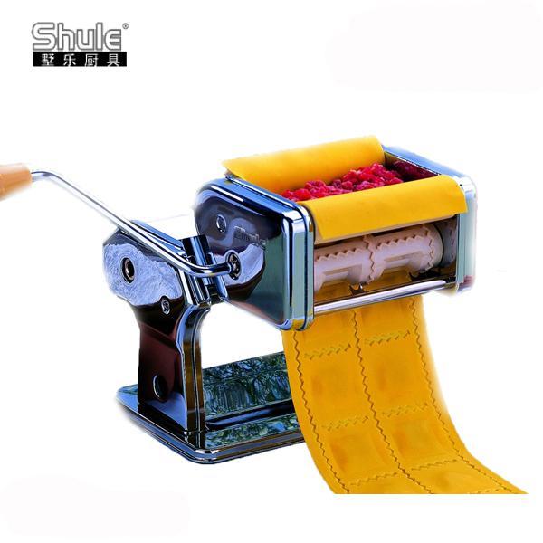 شول صنع رافيولي ماكينة تصنيع المعكرونة/الباستا للمنزل مطبخ مساعد ثلاثة أنواع من زلابية