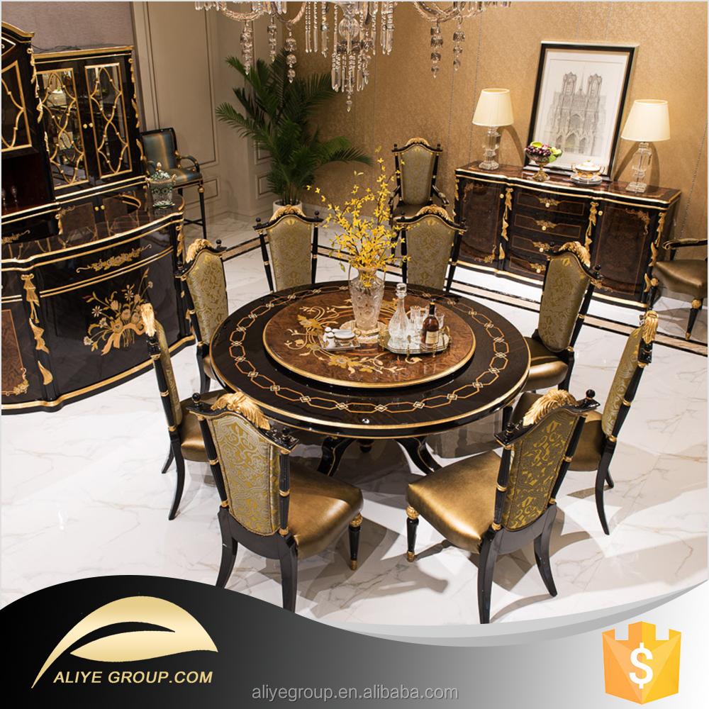 Azd 01 estilo europeo muebles de comedor de mesa y sillas for Muebles modernos estilo europeo