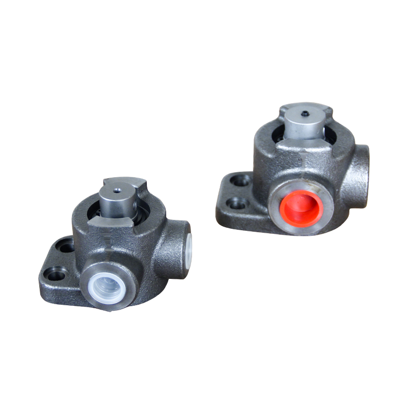 high strengthen casting iron rotary spool parker hydraulic solenoid valve 24 volt on motor