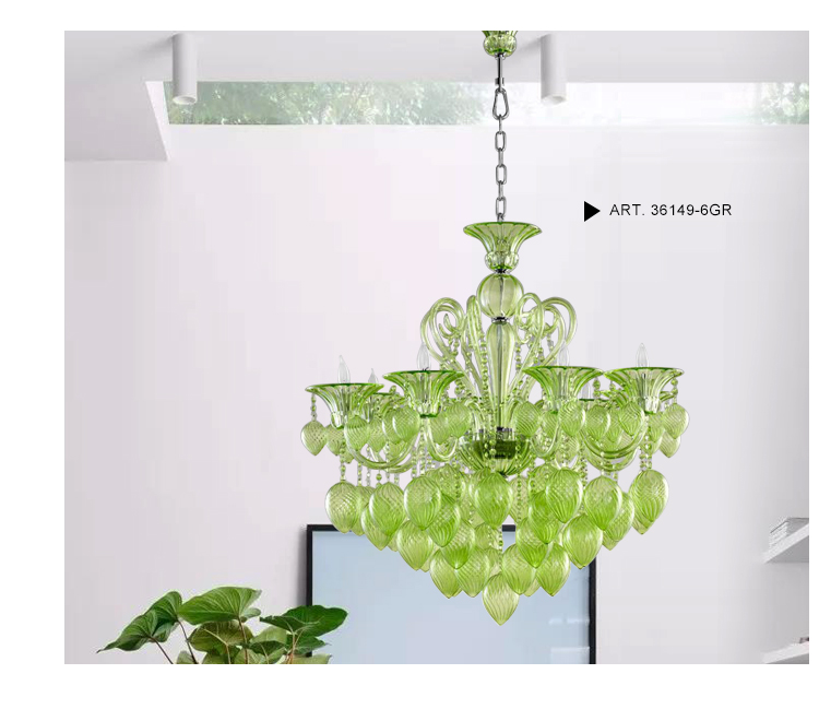 Murano Chandelier & Pendant Light