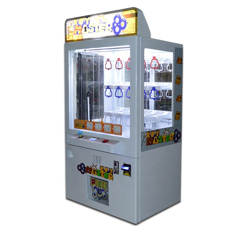 Goedkope Arcade Key Master, Speelgoed Klauw Kraan Game Machines, Push Gift Game Amusement Machine