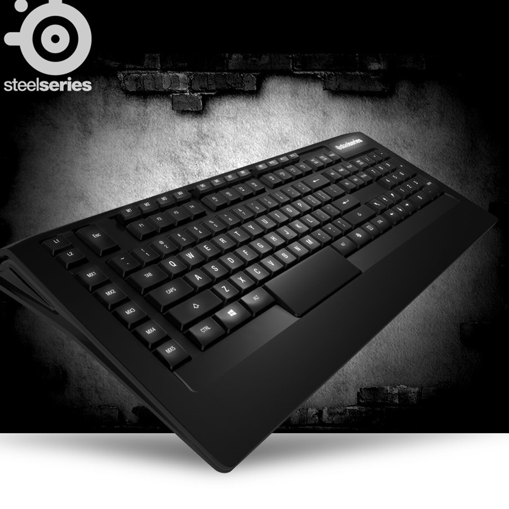 Steelseries Original Gaming keyboard Apex RAW for pc LOL WOW DOTO2 Free shipping-in Keyboards ...