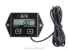 LCD display Digital timer motorcycle speed motorboat engine electronic tachometer