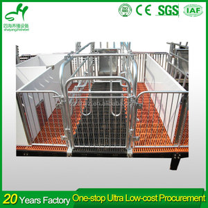Capacity 2 sows good quality hog farrowing crates for pigs is selling