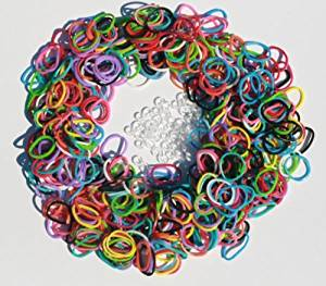 b94b60ad Get Quotations · Loom Rubber Bands - 600 Twistz Bandz Refills Variety Value  Pack with Clips (Rainbow Colors