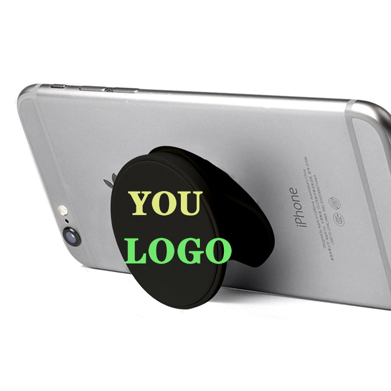Custom <strong>logo</strong> merchandising corporate promotional gift set items Popping Phone Socket Pops Phone Holder Sockets for Cell Phone