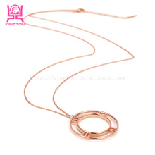 American Style Quality Nice Fashion 316L Stainless Steel long Chain Necklace Stainless Steel Necklace/Largo cadena collar