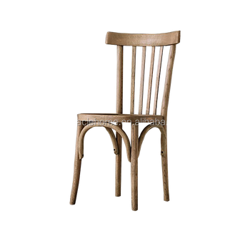 French Style Popular High Back Wood Bistro Side Chairs
